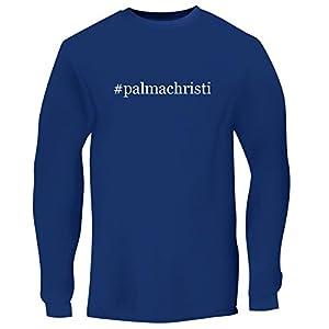 BH Cool Designs #palmachristi - Men's Long Sleeve Graphic Tee, Blue, Medium