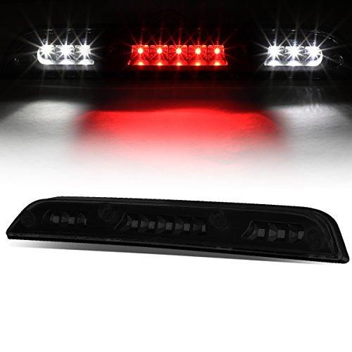 For 15-17 Ford F-150 High Mount LED Rear Third 3rd Tail Brake/Cargo Light (Black Housing Smoke Lens)