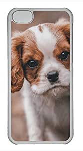 iPhone 5c case, Cute Meet Dog iPhone 5c Cover, iPhone 5c Cases, Hard Clear iPhone 5c Covers