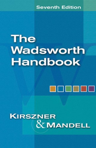 Think About Editing: ESL Guide for The Wadsworth Handbook for Kirszner/Mandell's The Wadsworth Handbook, 7th
