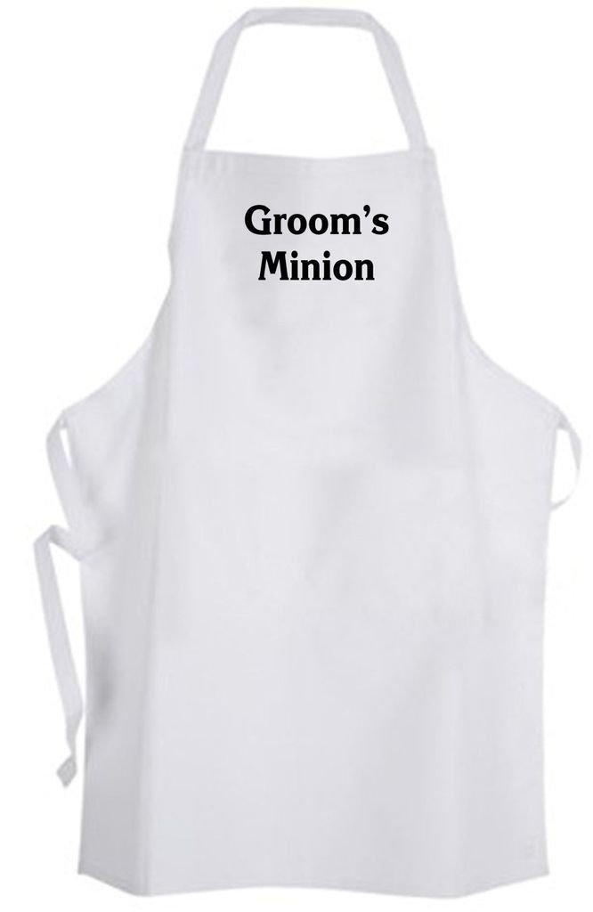 Groom's Minion – Adult Size Apron - Wedding Groom Bachelor Party Groomsmen
