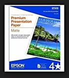 Epson Premium Presentation Paper MATTE (8.5x11 Inches, Double-sided, 50 Sheets) (S041568) (2, DESIGN 1)