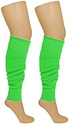 CRAZY CHICK/® NEON LEG WARMERS AND FISHNET GLOVES SET RAVE PARTIES 1980s FANCY DRESS ACCESSORY FUN RUN PARTY EVENT