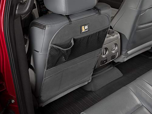 WeatherTech Seat Back Protector - Kick Mat and Organizer for The Back of Your Seat - Black