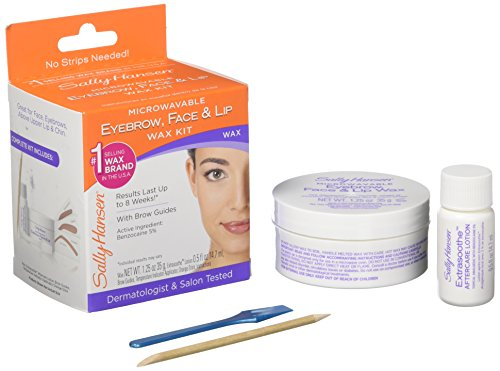 - Sally Hansen Eyebrow, Face, Lip Stripless Face Wax Kit, Pack Of 1