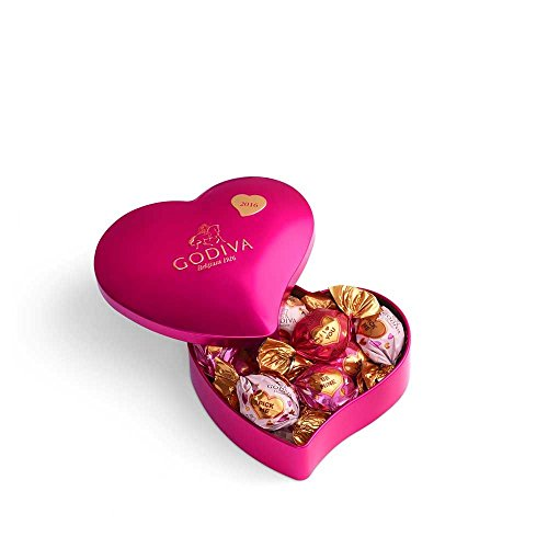 Godiva Chocolatier Valentines Keepsake Heart