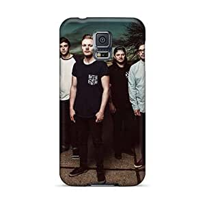 AlissaDubois Samsung Galaxy S5 Durable Hard Cell-phone Cases Support Personal Customs Fashion Before The Dawn Band Pattern [SOe9283tQBE]