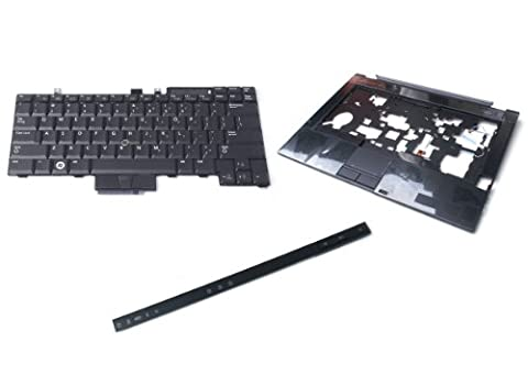 Genuine Dell Latitude E6410 Palm Rest Palmrest + Touchpad W/ CSCRD Contactless Smart Card Reader, Keyboard, and Bezel Kit Combo Set Palmrest Part Numbers: 2X11P, A09102 Keyboard Part Numbers: UK717, 0UK717 Bezel Part Numbers: TWC31, (Dell Smart Card Reader)