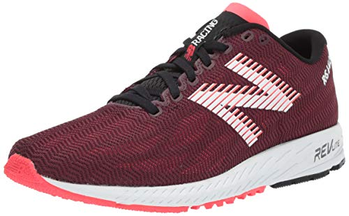 New Balance Women's 1400v6 Running Shoe Nubuck Burgundy/Bright Cherry 8.5 B US