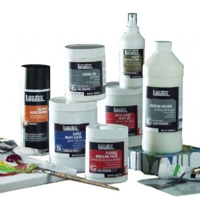 Acrylic Mediums Assortments A Set