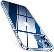 TORRAS Crystal Clear Case Compatible for iPhone 12, Compatible for iPhone 12 Pro [Anti-Yellowing] Clear Case U