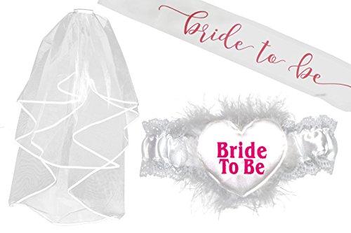 Premium Bride Bachelorette Bridal Garter