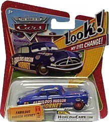 Disney / Pixar CARS Movie 1:55 Die Cast Car with Lenticular Eyes Fabulous Hudson Hornet