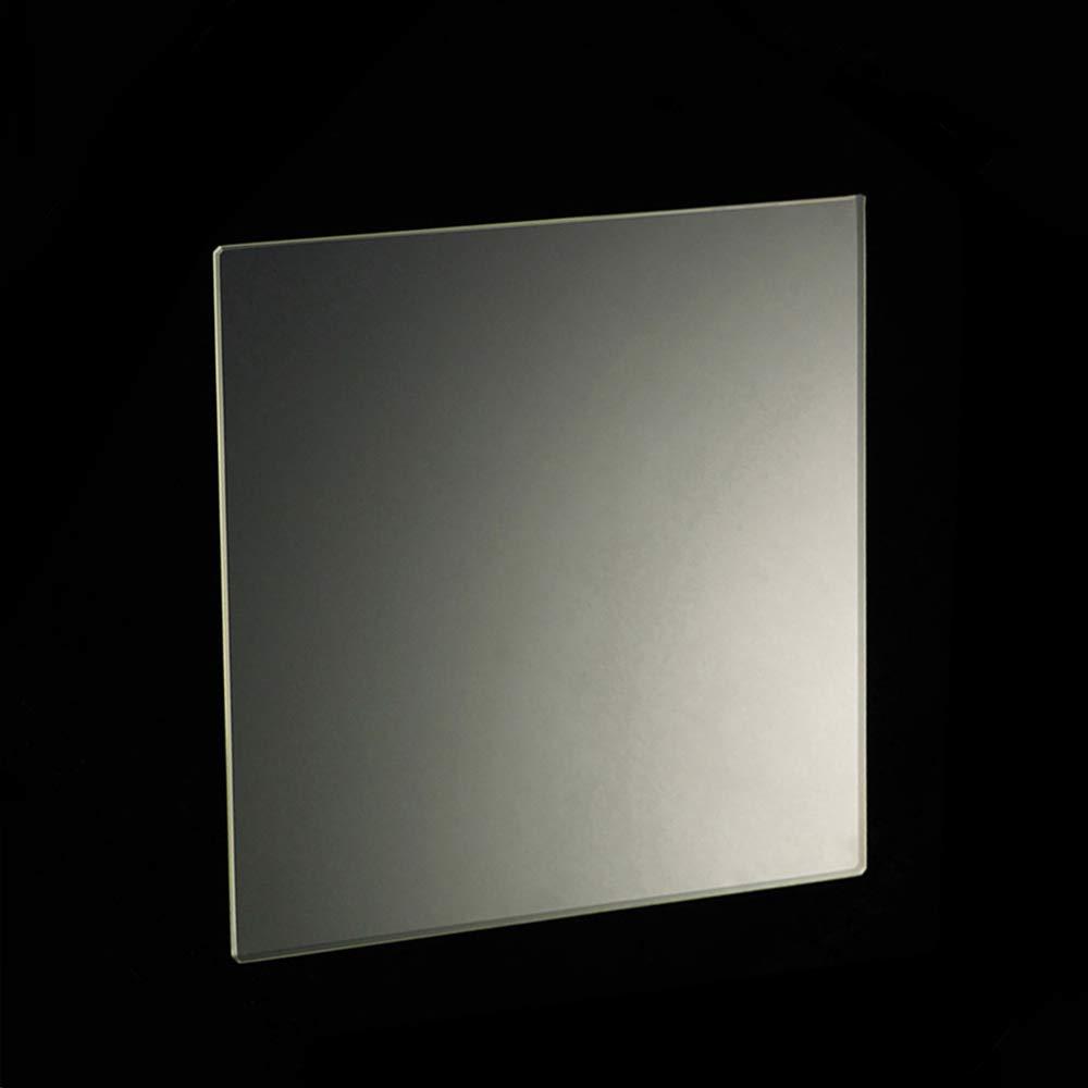 3D Printer Borosilicate Glass Plate//Bed 130mm x 130mm x 3mm for Mini 3D Printer Boro Glass Bed 130x130x3mm Square