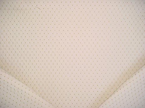 262RT17 - Cream / Taupe Embroidered Diamond Lattice Trellis Designer Upholstery Drapery Fabric - By the Yard