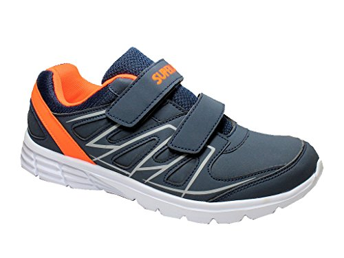 Les Hommes Superun Espadrilles Enfants Chaussures D'espadrilles Velcro De Sport Femmes 41-46 Marine