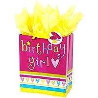 Hallmark Large Birthday Gift Bag with Tissue Paper (Birthday Girl)