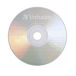 Verbatim 1pk Dvd-rw 4.7gb 2x Branded ( 94501 )