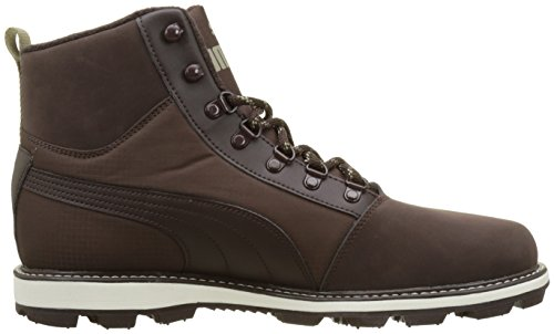 Puma Tatau Fur Boot 2, Zapatillas Unisex Adulto, Marrón (Black Coffee-Chocolate Brown), 44 EU