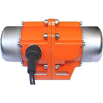 Concrete Vibrator Vibration Motor AC 110V Aluminum Alloy Vibrating Vibrator Motor 3600rpm (90W)