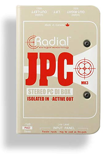 Radial JPC 2-channel Active Laptop Direct Box