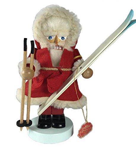 Retired Signed Karla Steinbach Chubby Ski Santa 713