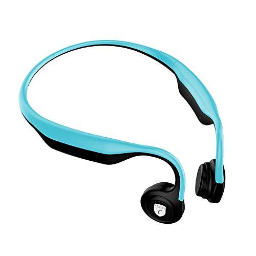 Open-Ear Wireless Bone Conduction Headphones Richer Bass HiFi Stereo Headset w/Mic Noise Cancelling Waterproof...