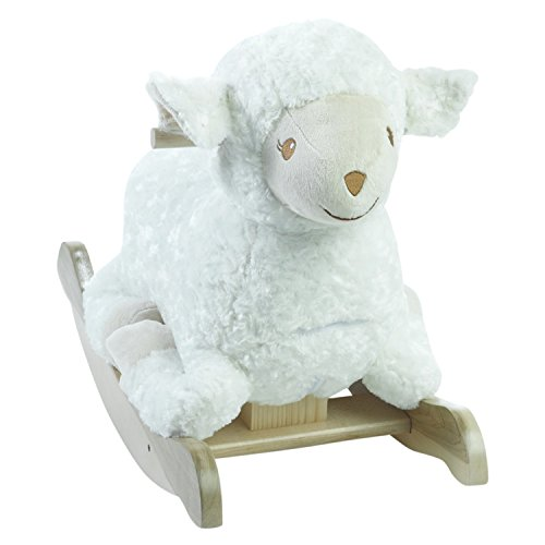 Rockabye Baby Furniture (Personalized Lambkin Lamb Rocker Engraved with Your Child's Name in Choice of Colors)