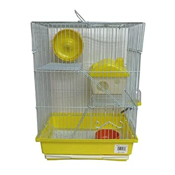 Iconic Pet Mouse Cage Small Yellow 15762