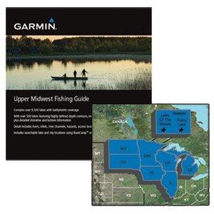 Garmin Upper Midwest Fishing Guide   Microsd Sd