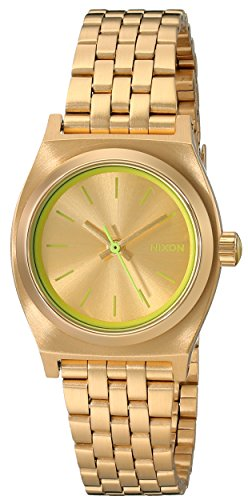 Nixon Women s Small Time Teller Stainless Steel Watch