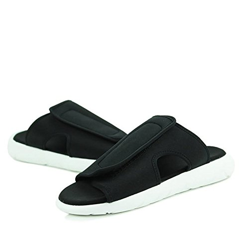 Scarpe slip skater Bianco Nero da shoes bianco alla Dimensione Sandali 2018 Uomo Color moda piatto tacco da e Nero con Xujw EU uomo uomo da da 39 Xqw04F6x4T