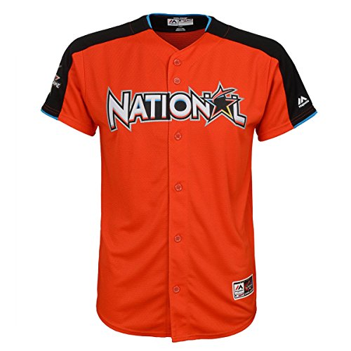 Kris Bryant #17 National League Youth 2017 All-Star Game Home Run Derby Jersey (Youth Medium 10/12) (Derby Jersey)