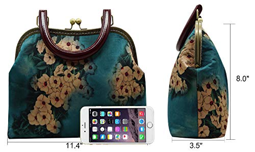 White Wedding Purse Bags Handbags Evening Clutches Flower Blue Bellady Women Clutch Flower CBH6qwW4Fx
