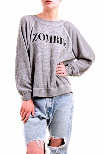 Wildfox Mujer Heather Zombie Sudaderas Gris