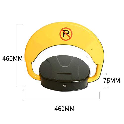 Remote Control Parking Space Saver Lock Car Park Driveway Automatic Barrier Alarmed Smartphone APP Bluetooth Induction by ZQYR Parking# (Image #1)