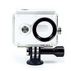 yi action camera waterproof case white. Black Bedroom Furniture Sets. Home Design Ideas