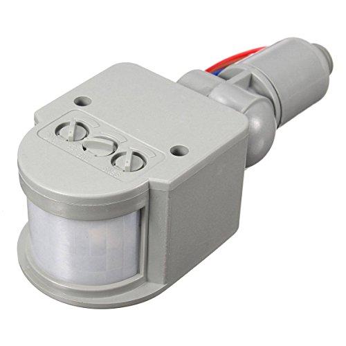 Mohoo LED 110V-240V Infrared PIR Motion Sensor Detector Wall