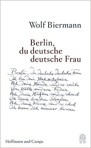 Berlin Du Deutsche Deutsche Frau Gedichte Amazonde Wolf