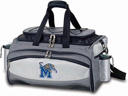 (PICNIC TIME NCAA Memphis Tigers Digital Print Vulcan Set, One Size, Black)