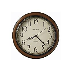 Talon Cherry Finish Wall Clock Medium-Brown Cherry Dimensions: 1.5D X 15.25 Diameter Weight: 2 Lbs