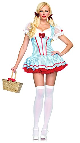 Wizard of Oz -Gingham Diva Dorothy Costume - X-Small]()