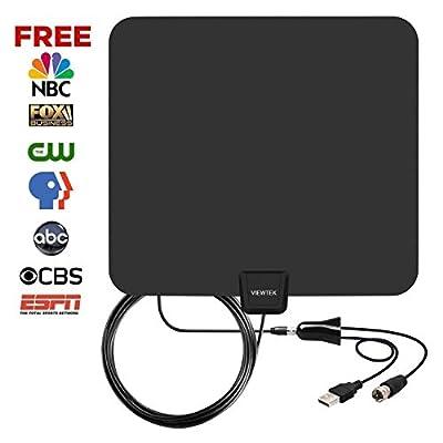 [2019 Latest] Amplified TV Antenna 60-85 Miles Range