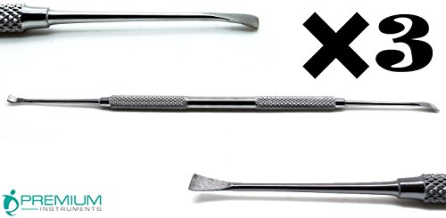 3× Dental Animal Tooth De-Scaler Dog Cat Oral Care Pets Hygiene Stainless Steel Instruments