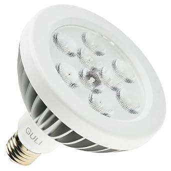 Guli PAR38 Lotus Bombilla LED 6000 K, E27, 15 W, Blanco: Amazon.es: Iluminación