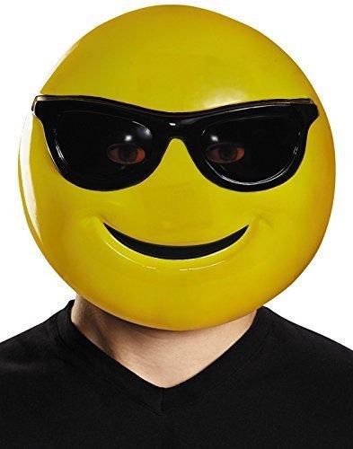 Emoji Mask Costume Accessory -