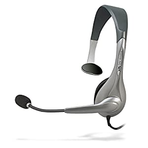 Cyber Acoustics Mono USB Headset,headphone with microphone, great for K12School Classroom and Education (AC-840)