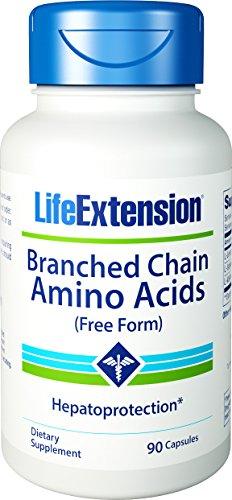 Prolongation de la vie ramifiée acides aminés à chaîne, comte 90