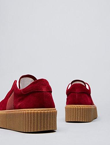 Zapatillas Plataforma Red Rojo Mujer Find con nSqwBYwz