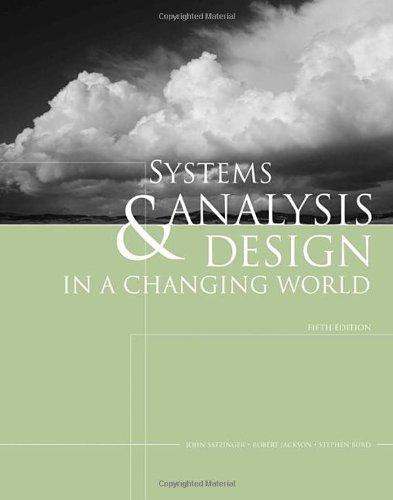 Systems Analysis and Design in a Changing World (with CourseMate Printed Access Card)